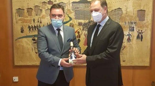 Λιβανός-Κόσαρατς για την ενίσχυση συνεργασίας Ελλάδας-Βοσνίας στον αγροδιατροφικό τομέα