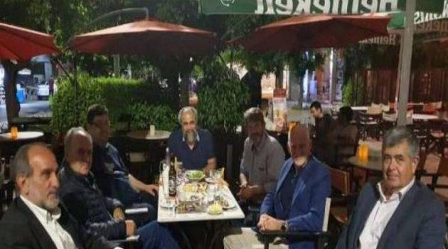 Συνάντηση Γιώργου Παπανδρέου με τα στελέχη της παράταξης Κατσιφάρα