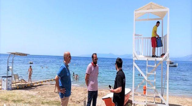 Νεκτάριος Φαρμάκης: «Ισότιμη πρόσβαση για όλους στις παραλίες της Δυτικής Ελλάδας»