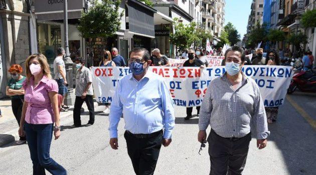 Πάτρα: Η Δημοτική Αρχή στο πλευρό των εργαζομένων ενάντια στο αντεργατικό νομοσχέδιο
