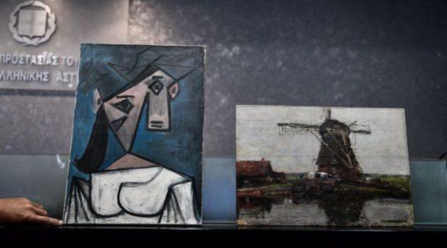 Οι πρώτες εικόνες από τους κλεμμένους πίνακες – Τι αποκαλύπτει η ΕΛ.ΑΣ.