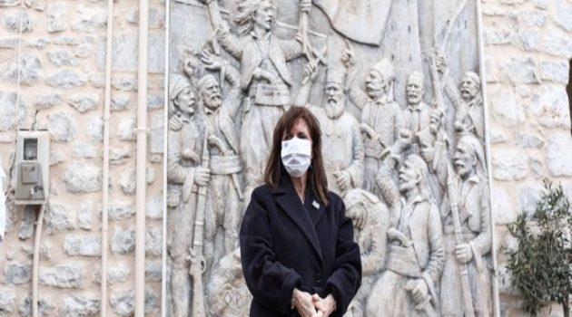 Στο Αγρίνιο σήμερα η ΠτΔ Κατερίνα Σακελλαροπούλου για τις εκδηλώσεις της Επετείου απελευθέρωσης της πόλης