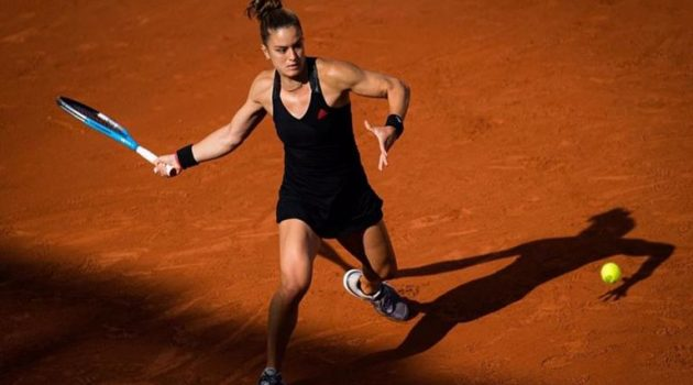 Για πρώτη φορά στους «8» του Roland Garros η Μαρία Σάκκαρη!