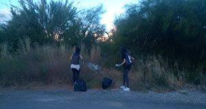 Δράση καθαριότητας στον Περιφερειακό δρόμο του Αγρινίου (Photos)
