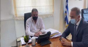 Συνάντηση Σαλμά με τον Διοικητή της 6ης Υ.ΠΕ. για το…