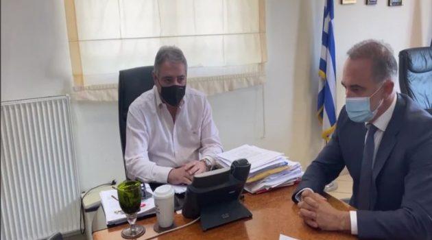 Συνάντηση Σαλμά με τον Διοικητή της 6ης Υ.ΠΕ. για το Νοσοκομείο Αγρινίου (Video)