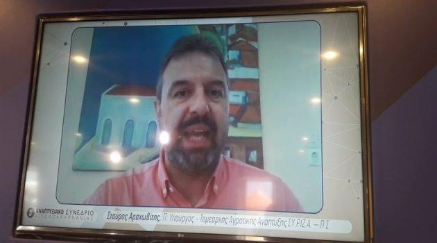 Ναύπακτος, 3ο Αναπτυξιακό Συνέδριο – Ο Στ. Αραχωβίτης για τον Έλληνα παραγωγό (Video)