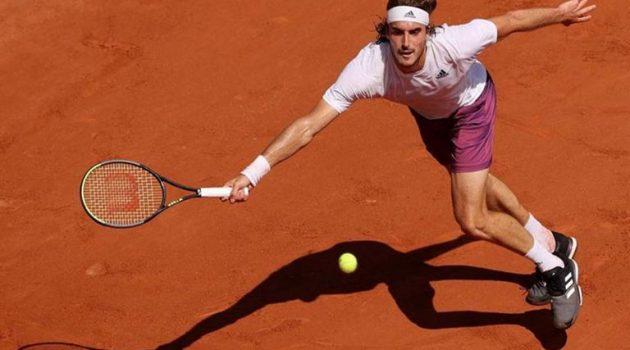 Ο Στέφανος Τσιτσιπάς στους «8» του Roland Garros!