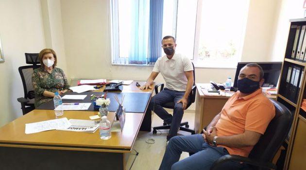 Μεσολόγγι: Συνάντηση Διοικήσεων Εμποροβιομηχανικού Συλλόγου και Νοσοκομείου