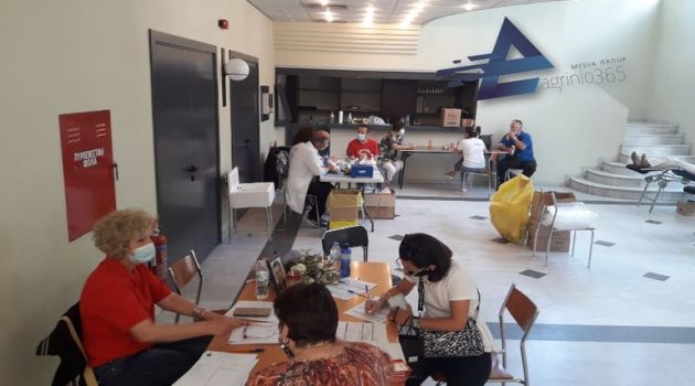 Αγρίνιο: Αφιερωμένη στη μνήμη του Δ. Παπανικολάου η εθελοντική αιμοδοσία (Video – Photos)