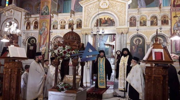 I.N. Αγίας Τριάδος Αγρινίου: Υποδoχή Λειψάνων Αγίου Ανδρέα εν Χαλκιοπούλοις (Videos – Photos)