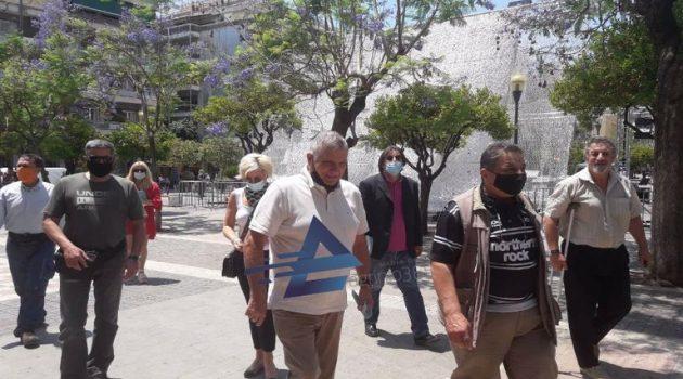 Γιώργος Τράγκας: «Διαπιστώνω οικονομικό μαρασμό και στο Αγρίνιο» (Video)