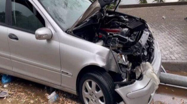 Αμφιλοχία: Τροχαίο ατύχημα χωρίς τραυματισμό (Video)