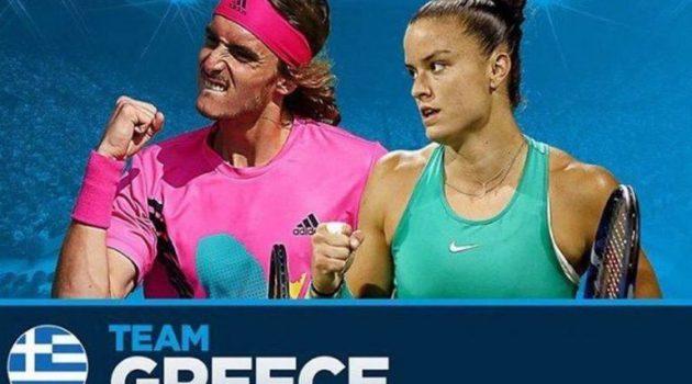 Στους Ολυμπιακούς Αγώνες του Τόκιο Στέφανος Τσιτσιπάς και Μαρία Σάκκαρη