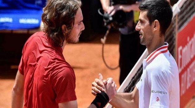 Roland Garros: Η μεγάλη στιγμή του Στέφανου Τσιτσιπά απέναντι στον Τζόκοβιτς