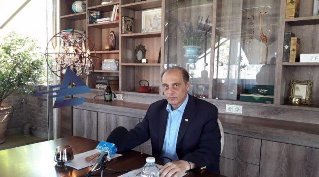 Αγρίνιο – Βελόπουλος: «Κάποιοι εμπαίζουν τον λαό της Αιτωλ/νίας» (Video)
