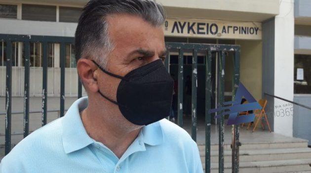 O Χρ. Ζαρκαβέλης στο AgrinioTimes για τις Πανελλαδικές: «Όλα κύλησαν ομαλά» (Video)
