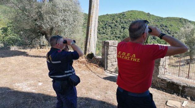 Σε επιφυλακή για τις πυρκαγιές η Εθ. Ομάδα Έρευνας & Διάσωσης (Photos)