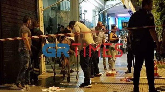 Πυροβολισμοί με έναν τραυματία στη Θεσσαλονίκη (Photos)