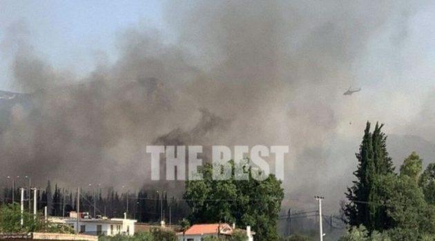 Καίγονται σπίτια στην Πάτρα – Χτυπούν οι καμπάνες (Video – Photos)