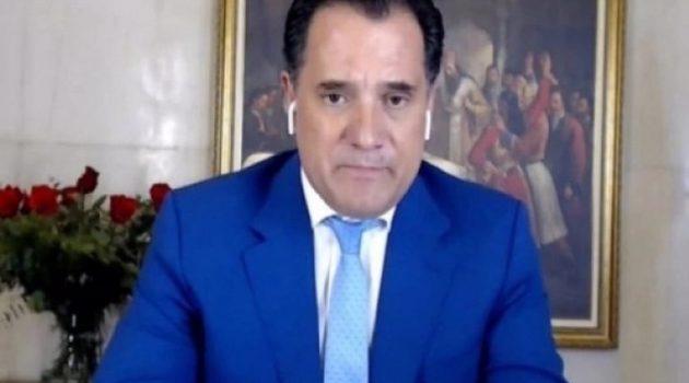 Άδωνις Γεωργιάδης: «Απορρόφηση των αυξήσεων με μείωση φόρων και εισφορών» (Video)