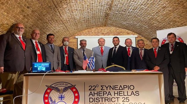 O Ναυπάκτιος Αδάμ Βλαχογιάννης στο Δ.Σ. της Ahepa Hellas ως Αθλητικός Διευθυντής