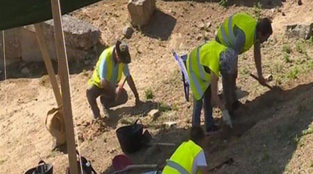 Αρχαίο Θέατρο Στράτου: Έργα αποκατάστασης και ανάδειξης του μνημείου (Video)