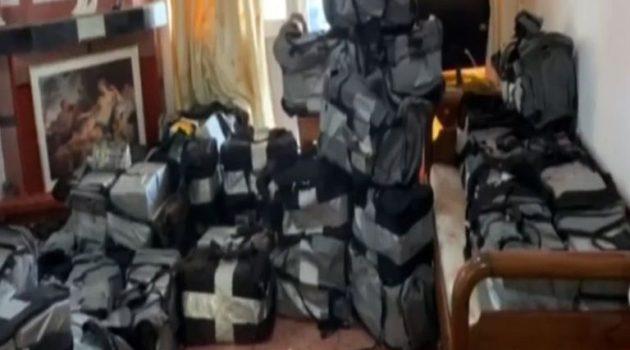 Καταδίκη 13 ατόμων για τον 1,2 τόνο κοκαΐνης στον Αστακό (Video)