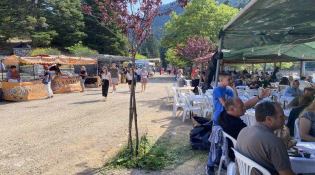 Eoρτή της Αγίας Κυριακής στη Λεπτοκαρυά της Ορεινής Ναυπακτίας (Photos)