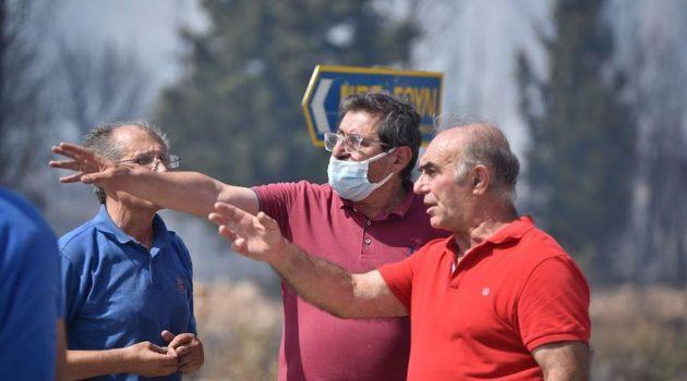 Η συνδρομή του Δήμου Πατρέων στην κατάσβεση της μεγάλης πυρκαγιάς (Photos)