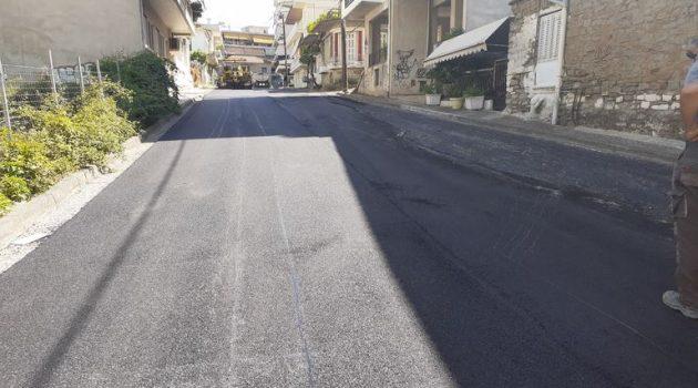Δήμος Αγρινίου: Ασφαλτόστρωση των οδών Ματσούκα και Παπαγιάννη (Photos)