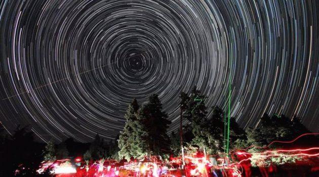Αστρικά ίχνη στον ουρανό της Αιτωλοακαρνανίας (Photo)