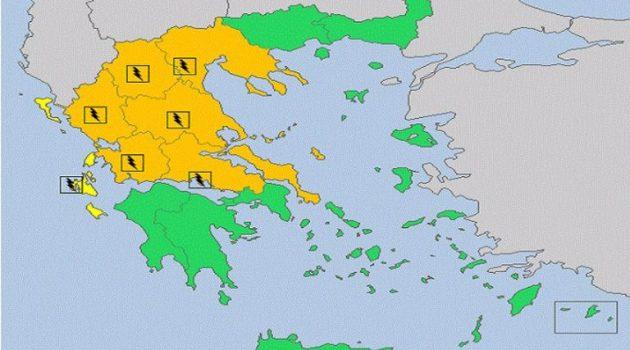 Έκτακτο δελτίο επιδείνωσης καιρού – Πρώτα από τη Δυτική Ελλάδα