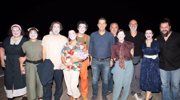 Αγρίνιο: Πραγματοποιήθηκε η πρεμιέρα της παράστασης «Ελλάς, Ηρώων Χώρα…» (Video – Photos)