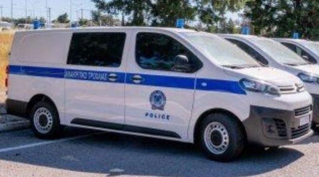 Ακόμη 7 οχήματα ειδικής χρήσης προστέθηκαν στο στόλο της Ελληνικής Αστυνομίας