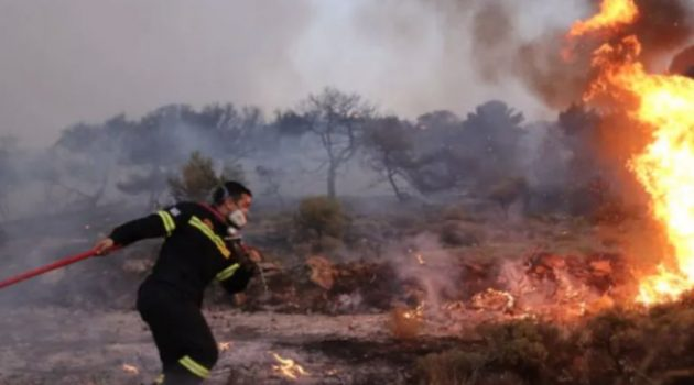 Φωτιά στο Πανόραμα Βούλας