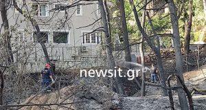 Φωτιά στη Σταμάτα: Τεράστιες οι καταστροφές – Η καταγραφή ζημιών…