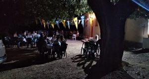 Εορτασμός στο εξωκλήσι Αγίας Παρασκευής στο Παλαιοχώρι Σαργιάδας (Photos)
