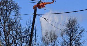 Πυρκαγιά στην περιοχή Θυρίου του Δήμου Ακτίου – Βόνιτσας