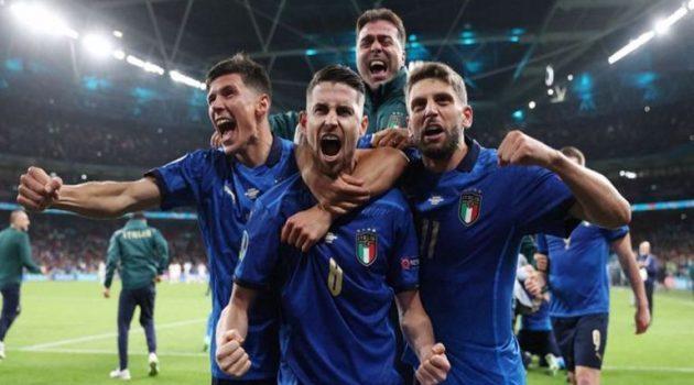 Euro 2020: Η Ιταλία στον Τελικό της Κυριακής – Απέκλεισε την Ισπανία στα πέναλτι