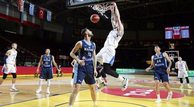 Εκτός Ολυμπιακών Αγώνων η Εθνική Ομάδα Μπάσκετ – Αποκλεισμός από την Τσεχία