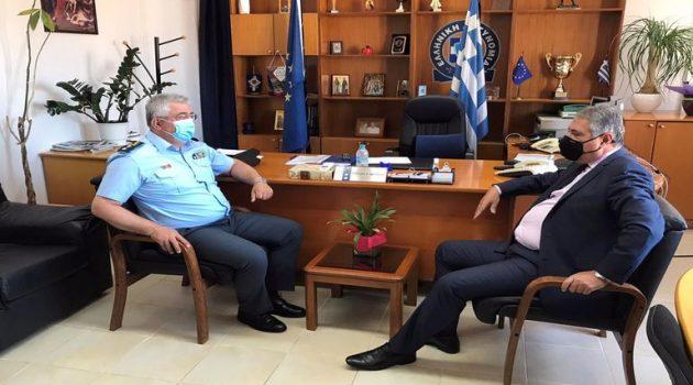Επίσκεψη του Διοικητή 6ης Υ.ΠΕ. στη Γενική Περιφερειακή Αστυνομική Διεύθυνση Δ. Ελλάδας
