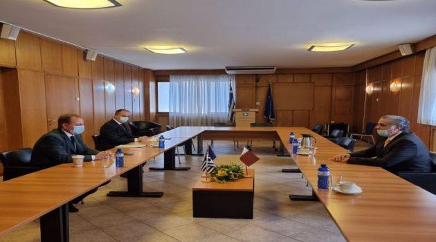 Συνεργασία Ελλάδας – Κατάρ στον αγροδιατροφικό τομέα