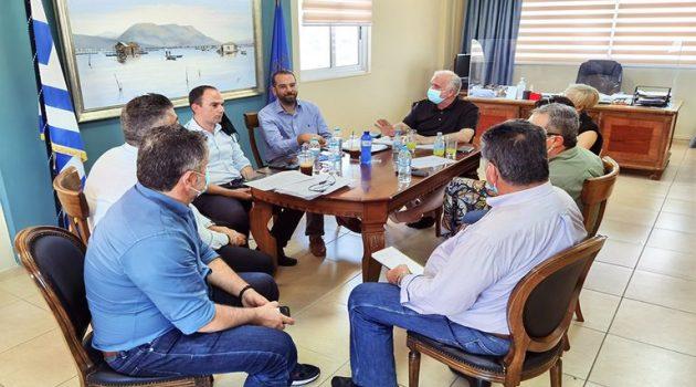 Ο Δήμος Ι.Π. Μεσολογγίου για τη συνάντηση Λύρου – Φαρμάκη (Photos)