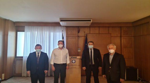 Σύσκεψη Βουλευτών με Υπ.Α.Α.Τ., Σπ. Λιβανό για την «Κλημεντίνη»