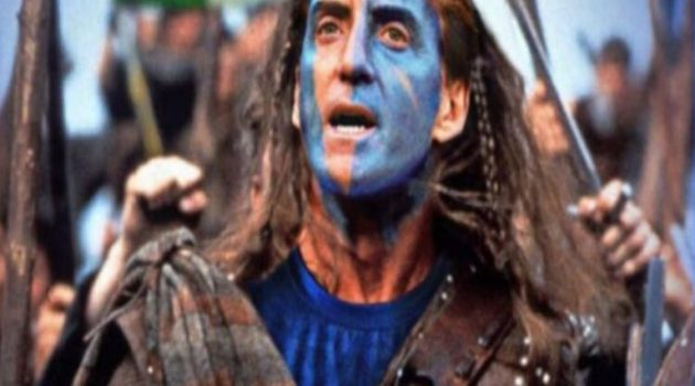 Οι Σκωτσέζοι «μεταμόρφωσαν» τον Μαντσίνι σε «Braveheart» και στηρίζουν την Ιταλία