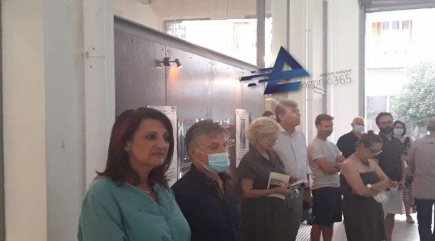 Αγρίνιο: Εγκαίνια της έκθεσης του Αλέξανδρου Μπάδα (Videos – Photos)