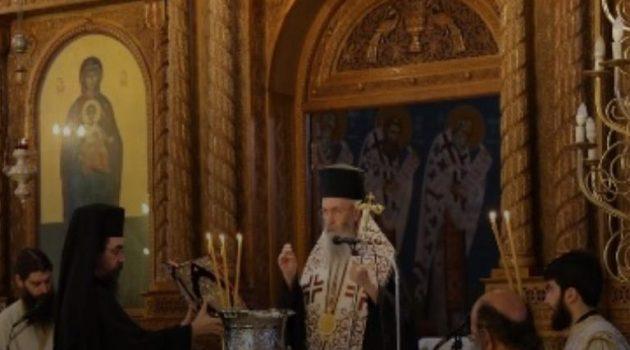 Ναύπακτος: Εορτή του Αγίου Σωφρονίου στο νέο Παρεκκλήσιό του (Photos)
