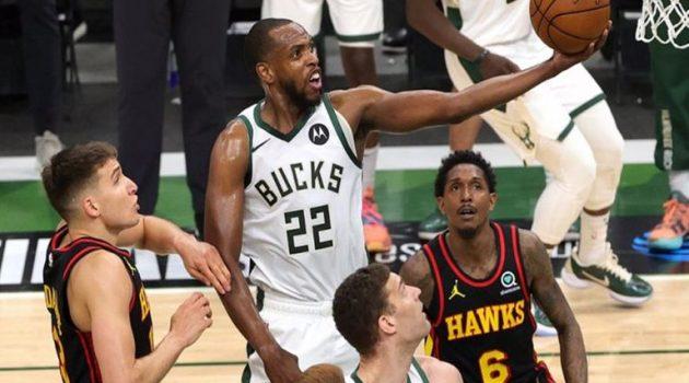 NBA: Οι Μιλγουόκι Μπακς έκαναν το 3-2 χωρίς Γιάννη Αντετοκούνμπο