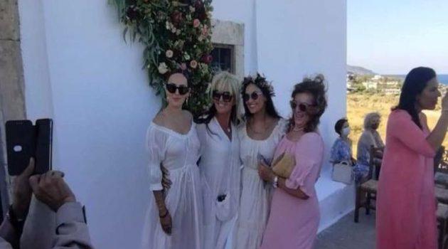 Η Ντέμι Μουρ έγινε νονά στην Κρήτη (Photos)